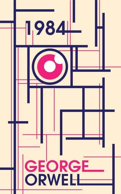 1984 Book Cover by Natalie Talis, via Behance