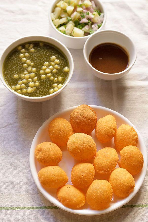 Pani Puri Recipe, How to make Pani Puri   Easy Pani Puri Recipe - Eastern Indian food