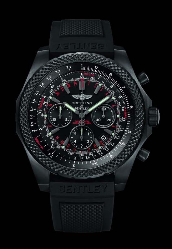 Breitling Bentley Midnight Carbon