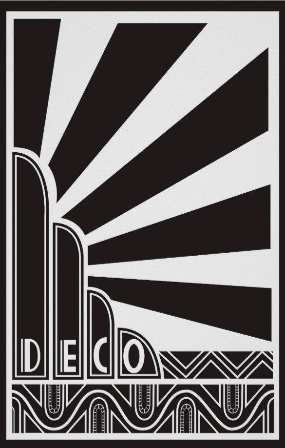 16 best art deco images on pinterest posters art deco for Famous art deco art