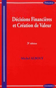 """658.15 ALB 3ème édition """"étudie les principales décisions financières de l'entreprise à la lumière des acquis de la théorie financière moderne. Son but est de rapprocher la théorie de la pratique, tout en s'efforçant de rester simple et concret."""""""