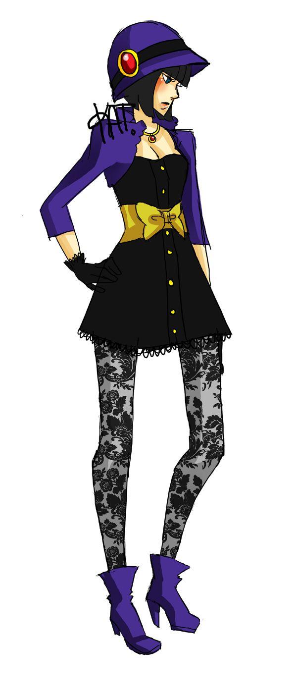 Raven >> COMIC BOOKS MEET FASHION WEEK WITH KATRINA NAVARRO'S SUPERHERO DESIGNS via The Mary Sue