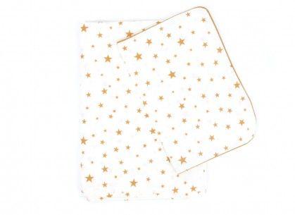 Funda nórdica Vancouver Estrellas mostaza - mustard stars - Nobodinoz