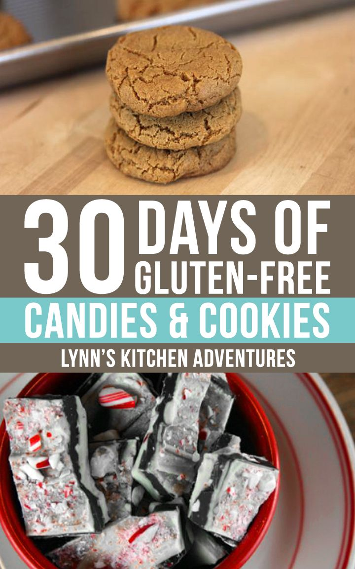 30 Days of Gluten Free Christmas Candies & Cookies from LynnsKitchenAdventures.com #recipes #christmas #glutenfree (scheduled via http://www.tailwindapp.com?utm_source=pinterest&utm_medium=twpin&utm_content=post302371&utm_campaign=scheduler_attribution)