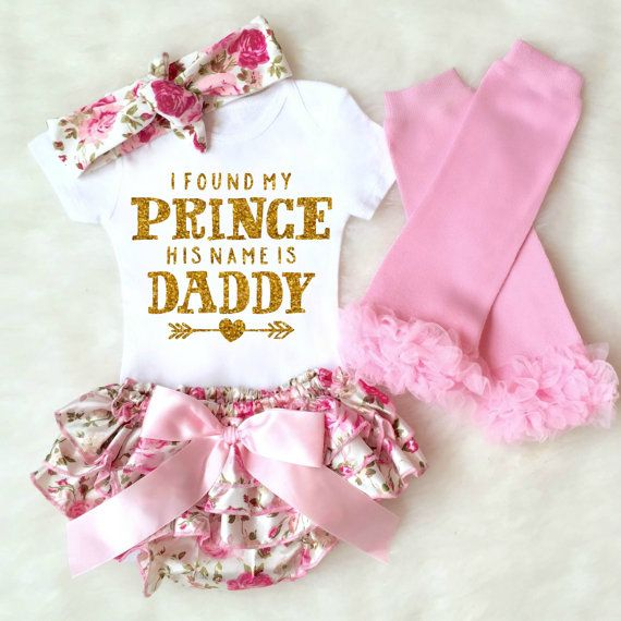 67571763a Baby Girl Coming Home Outfit Newborn Girl Take Home Outfit ...