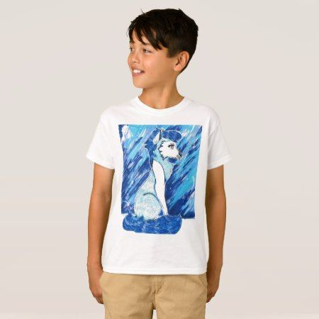 Lapis Lazuli Wolf Inspired By Steven Universe T-Shirt - click to get yours right now!