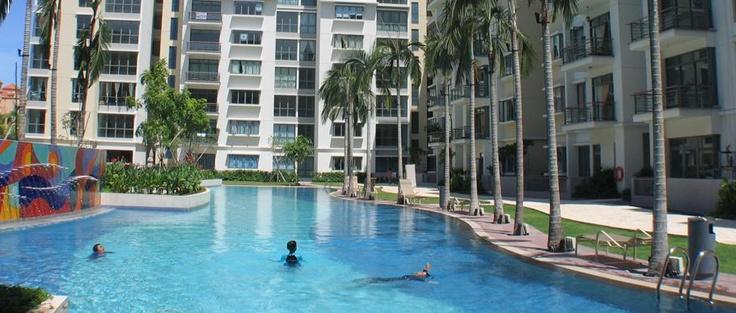 New Cluster House in Lorong M Telok Kurau. Within 1km of Tao Nan School. Spacious with private swimming pool.