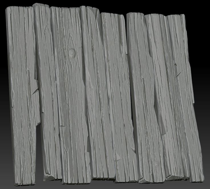 Stylized Wood Sculpt
