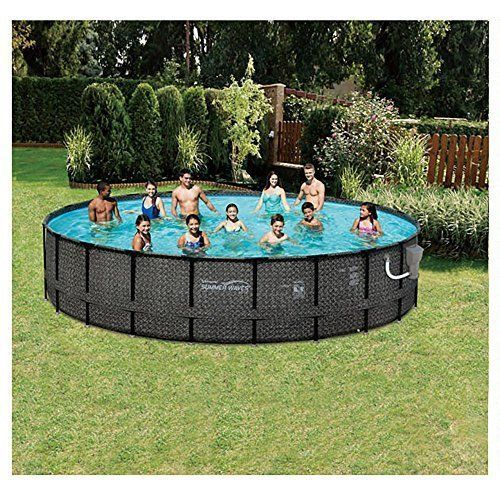 20 Feet Swimming Pool Deluxe Set Modern Family Durable Pool Summer Kids Adults  #SW