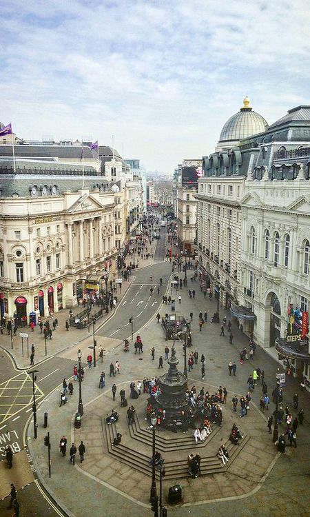 Piccadilly Circus, London My fav
