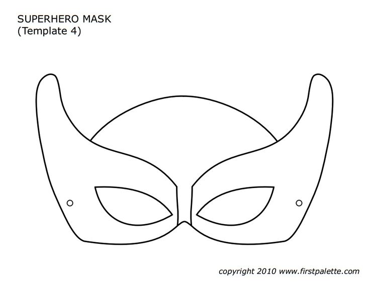 85 best carnival images on pinterest coloring books colouring free printable mask patterns to make into superhero masks pronofoot35fo Choice Image