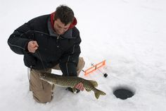 How To Go Ice Fishing the Right Way