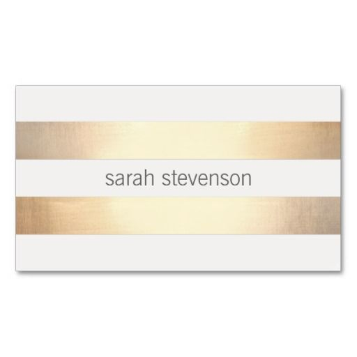 81 best business cards fashion images on pinterest business card chic gold foil look striped modern minimalist business cards fashion reheart Images