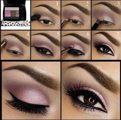 Pour femme : tuto maquillage yeux verts discret: