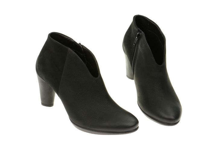Ecco Sculptured 75 Schuhe schwarz Nubuck