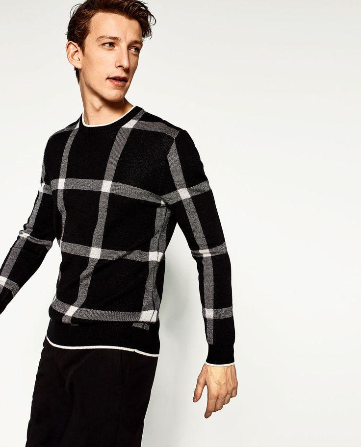 TERNET SWEATER-Sweatere-SWEATERE OG JAKKER-HERRE | ZARA Danmark