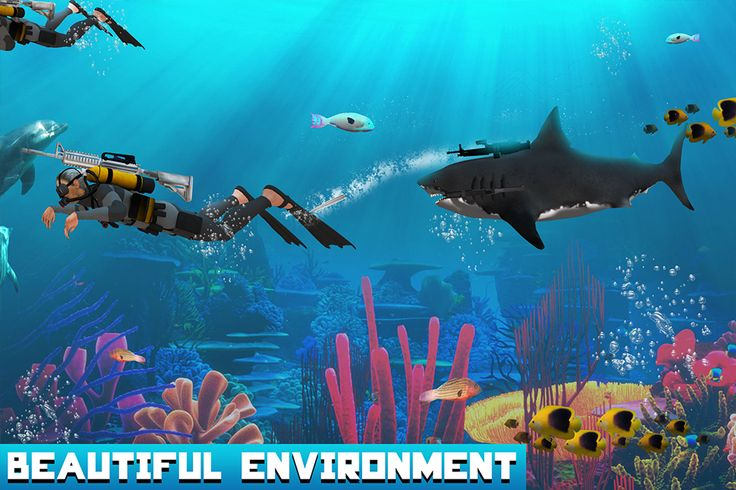 #transform #robot #shark #action #shooting #scubadivers #sea #fishes #whale #fighting #guns #kill #android #game
