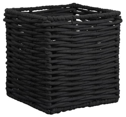 Hampton Black Basket