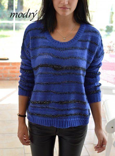Mohérový svetr JOYX > varianta Modrá > S/M