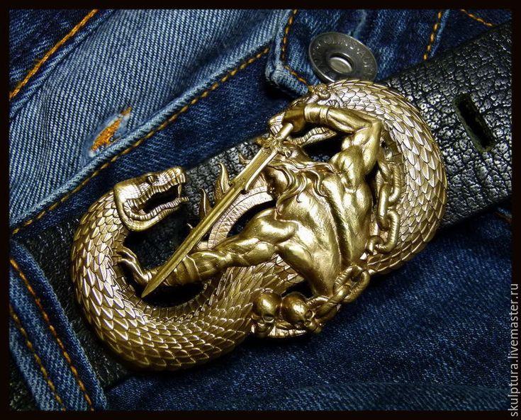 """Продолжаю тему классных , необычных , стильных и оригинальных пряжек для ремней !  В этот раз предлагаю пряжку для ремня """"Конан"""" , настоящий артефакт для всех фанатов !!! которому позавидуем сам Шварценеггер ...."""
