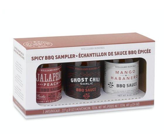 Williams-Sonoma Spicy BBQ Sauce Gift Set