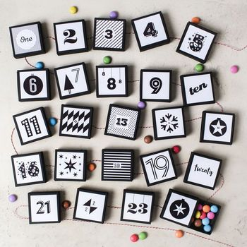 Resusable Chocolate Advent Calendar