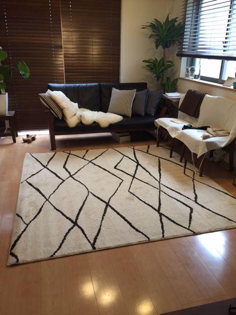 兵庫県にお住いのO様より『ルチル/ライトベージュ』のご感想を頂きました♪ | びっくりカーペット お客様レビュー