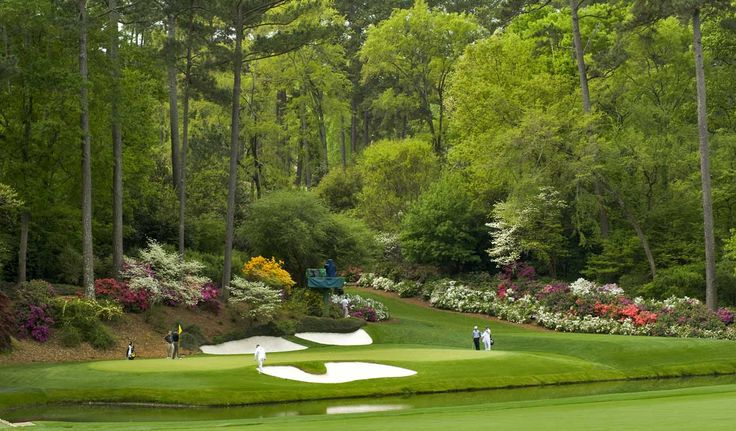 THE Augusta National. Home of arguably the best tournament of the year - The Masters.
