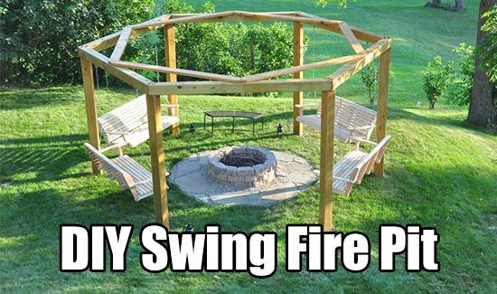 DIY Swing Fire Pit, homesteading, outdoor project, fire pit plans, free plans, swing fire pit, gardening, garden project,