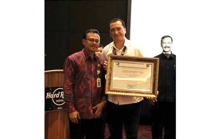 #BaliBestAwards @hrhbali cc. @hardrockbali :To make sure that all hotels in the Badung Regency have acceptable disaster-ready management, Disaster Management Agency in the Bali Province and Disaster Management Operational Control Center held an event to evaluate and certify qualified candidates. At this certification award ceremony, Hard Rock Hotel Bali was honored, winning the Gold trophy.