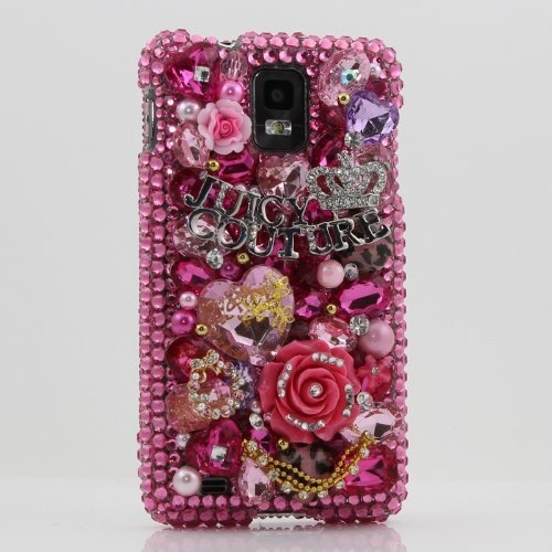 3D Swarovski Crystal Bling Juicy jeweled Rhinestone Diamond Case Cover for Samsung Infuse 4G i997 (Handcrafted by BlingAngels) by BlingAngels, http://www.amazon.com/dp/B0086881D6/ref=cm_sw_r_pi_dp_tI0iqb0Q2Y3FP