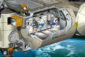 Afbeeldingsresultaat voor kartonnen iss ruimtestation