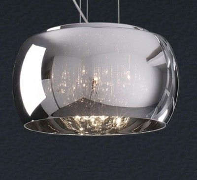LAMPA WISZĄCA 40 CM CRYSTAL P0076-05L , Pomieszczenia, Sypialnia, Salon, Kuchnia, Lampy wewnętrzne, Lampy Wiszące - ZUMA LINE 749.00