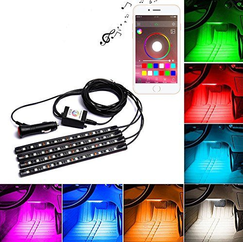 Tik-Tik 4-Piece Multicolor LED Interior Underdash Lighting KitBy APP Bluetooth Controller for iPhone Android - http://www.caraccessoriesonlinemarket.com/tik-tik-4-piece-multicolor-led-interior-underdash-lighting-kitby-app-bluetooth-controller-for-iphone-android/  #4Piece, #Android, #Bluetooth, #CONTROLLER, #Interior, #IPhone, #KitBy, #Lighting, #Multicolor, #TikTik, #Underdash #Lighting, #Replacement-Parts