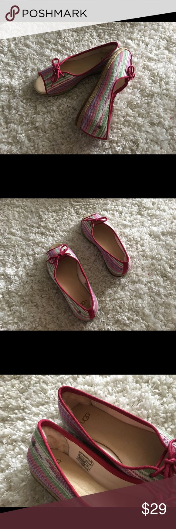 UGG Australia Marleigh Serape Espadrille Never worn. No box. UGG Shoes Sandals