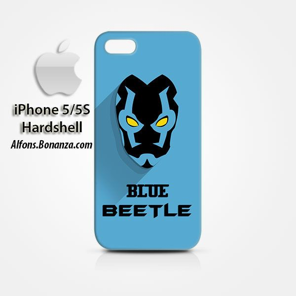 Blue Beetle Superhero iPhone 5 5s Hardshell Case