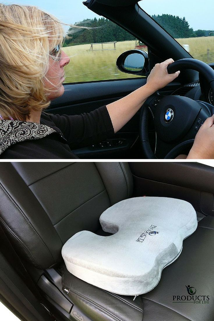 ChiroDoc Bumtiful Breathable And Ergonomic Orthopedic Memory Foam SeatCushion For Coccyx Tailbone Pain Relief Reduce Back F