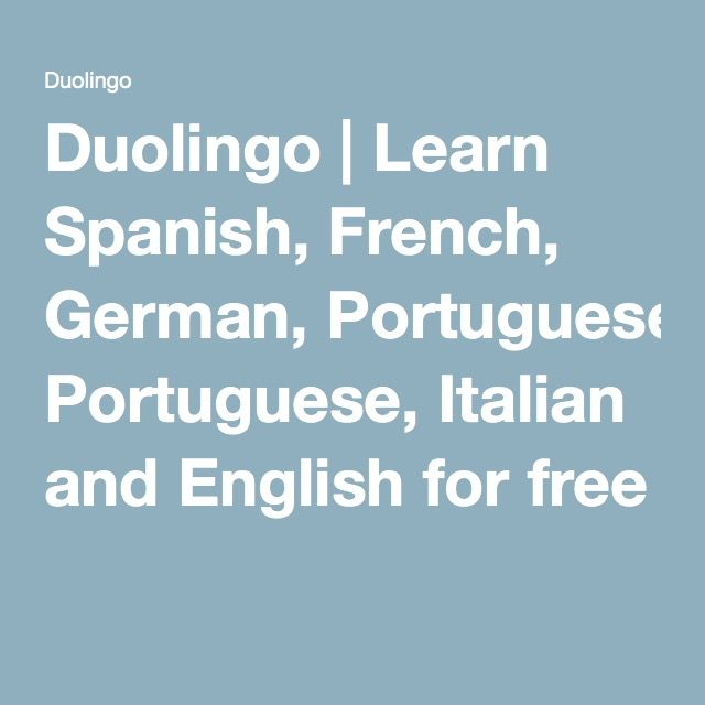 Duolingo Learn Spanish French and other languages for free