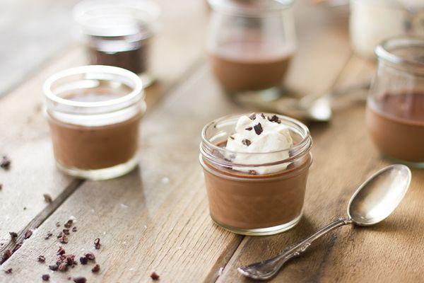 The Bojon Gourmet: Chocolate and Coconut Milk Pots de Crème {with Tahitian Vanilla and Rum}