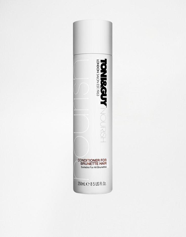 Conditioner für brünettes Haar von Toni & Guy nährende Formel hilft dabei, die Farbe und den Glanz einzuschließen geeignet für natürliches und gefärbtes Haar