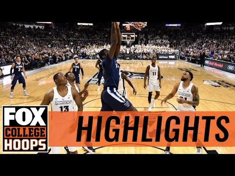 (4) Villanova holds off Providence | 2017 COLLEGE BASKETBALL HIGHLIGHTS