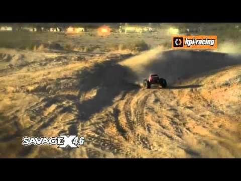 HPI Savage X 1/8 4.6 2.4GHz RTR 105644 - http://techstronics.com/reviews/hobbies/rc-cars/hpi-racing/hpi-savage-x-18-4-6-2-4ghz-rtr-105644/  - #HPIRacing
