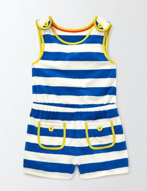 If your girl doesn't want a dress to wear over her swimsuit, try this romper! From Boden sizes 2-12