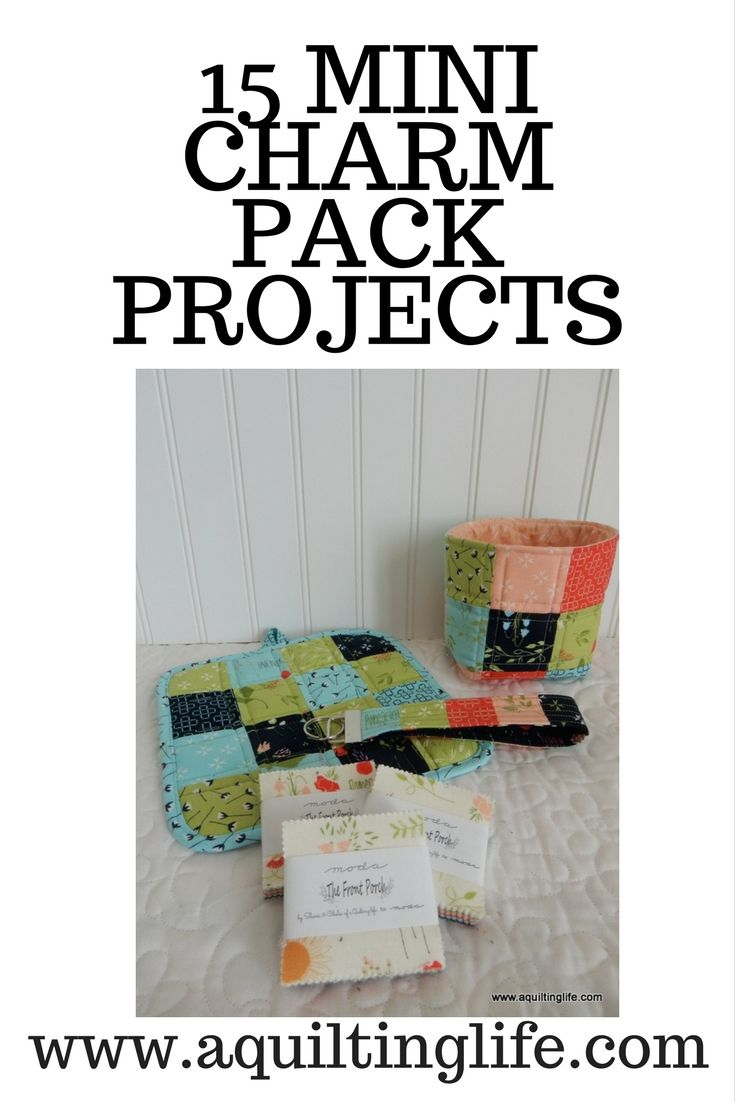 15 Mini Charm Pack Projects