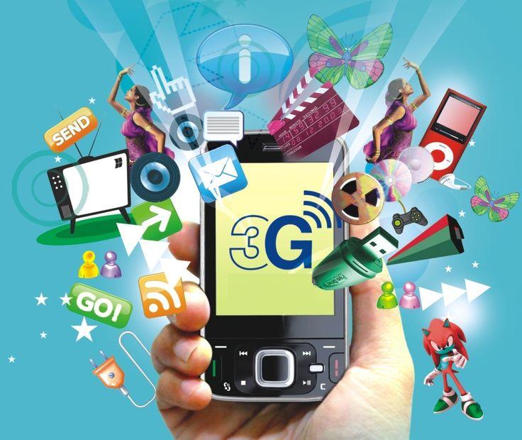 El 3G provee un amplio rango de servicio de telecomunicaciones por un arreglo en la red de telecomunicaciones y otros servicios específicos para usuarios móviles