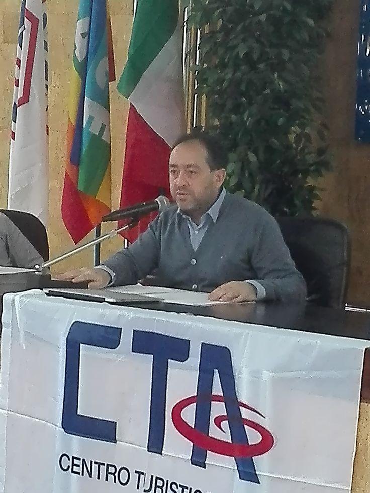 Il Vice Presidente Nazionale CTA, Matteo Altavilla, coordinatore dei lavori e Responsabile del Progetto.
