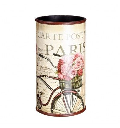 Paragüero Bicicleta madera