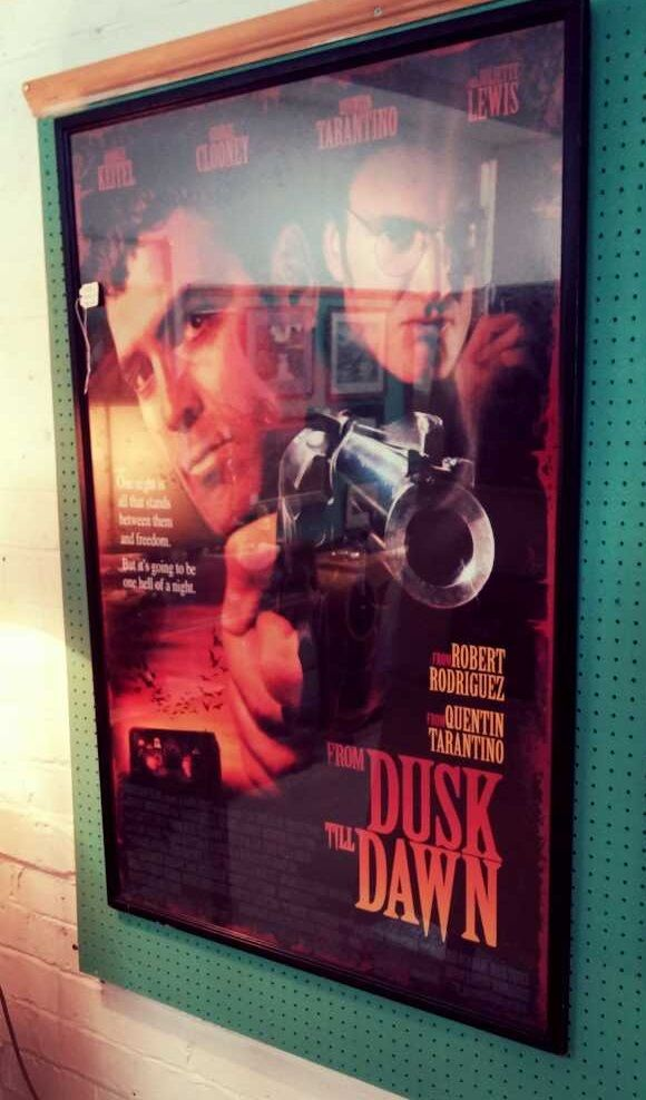Interested in vintage movie posters? Original Framed Vintage Movie Poster of From Dusk Till Dawn.