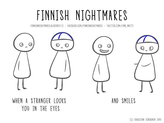 Finnish Nightmares: Smile!