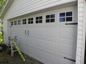 43 best brooklyn garage door design images on pinterest diy garage carriage door paint faux windows on your garage door line done the middle add handles and your have yourself a faux carriage door solutioingenieria Gallery